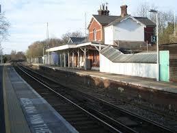 Ockley railway station