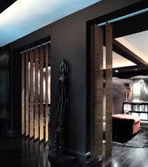grassweave mocha modern xl vertical blinds interior window