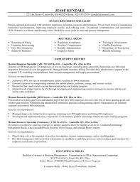 human resource generalist cover letter   Template happytom co