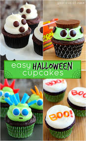 cute thanksgiving cupcakes easy halloween cupcake ideas your cup of cake