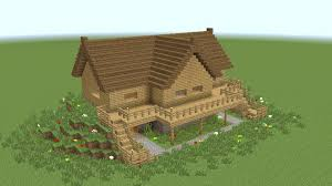 How To Build A Cottage House by Minecraft How To Build Wooden Mansion Youtube
