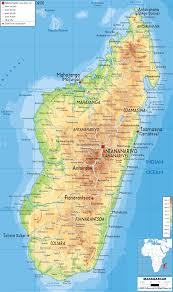 Physical Map Of Africa by Geography And Madagascar Human Geography Physical Geography