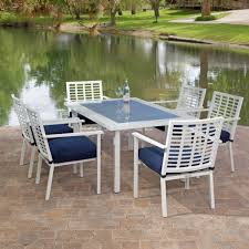 White Resin Wicker Outdoor Patio Furniture Set - patio enchanting white patio chairs plastic white patio chairs