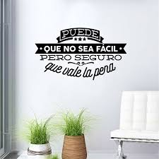 popular spanish wall decals buy cheap spanish wall decals lots decorative viny wall stickers spanish famous quote inspiring phrase wall decals sticker home decor for living