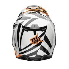 white motocross helmets thor 2017 verge dazz mx helmet available at motocrossgiant com
