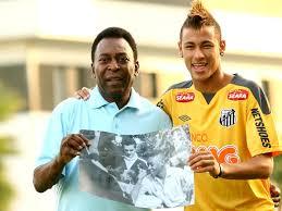 Pelé compara Neymar a Maradona e Messi e ensina craque ...