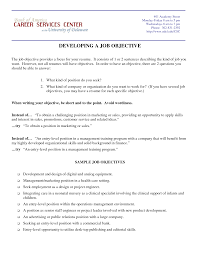 Cosmetologist Resume Objective Objective Human Resources Resume Objective Examples