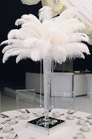 Black Centerpiece Vases by Get 20 Ostrich Feather Centerpieces Ideas On Pinterest Without