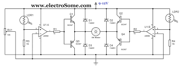 home theater circuit diagram simple solar tracker circuit using lm358