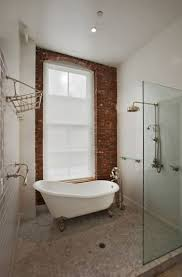Fake Exposed Brick Wall 64 Best Bathroom Design Images On Pinterest Architecture