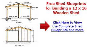 Plans For Building A Wood Storage Shed by How To Build A Storage Shed Free Plans Shed Plans Kits