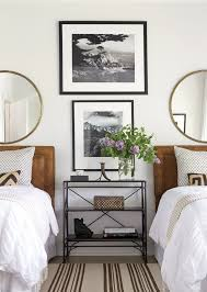 Two Twin Beds In Small Bedroom Bedroom With Twin Beds Black And White Photography And Matching