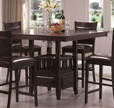 Kitchen Table Bar Style Brilliant Design Counter Height Dinette Sets For Dining Room Round