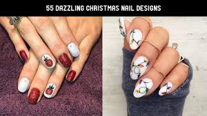 55 stunning christmas nail designs 2016 17 the glamour lady