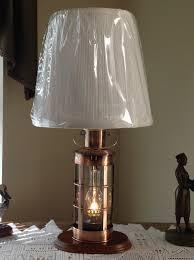 Nautical Home Accessories Classic Captains Lantern Nautical Table Lamp