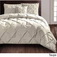vcny carmen pintuck 4 piece comforter set by vcny diamond design