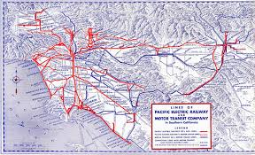 Los Angeles Light Rail Map by Off The Rails U2013 The Rise And Fall Of The Streetcar