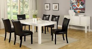 amazon com furniture of america basic modern rectangular high