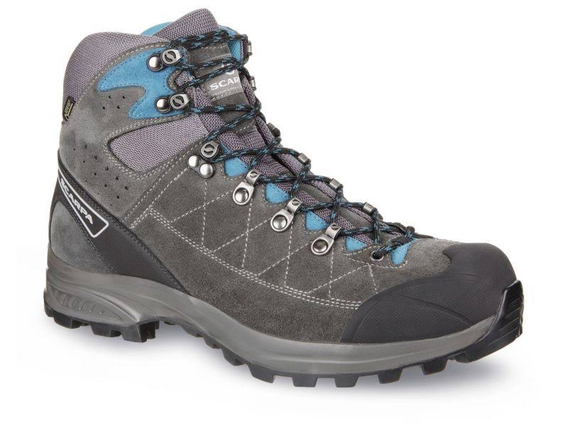 Scarpa Kailash Trek GTX Backpacking Boots Shark Grey/Lake Blue Wide 42 61056/200.3-SrkgryLkblu-42