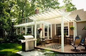 Enclosing A Pergola by An Ordinary Patio Becomes A Beautiful Three Season Porch