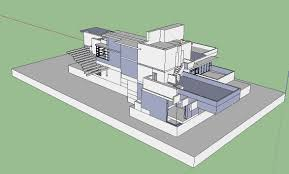 House 3d Model Free Download by Sketchup 3d Architecture Models Cascade House 3d U2013 Cad Design