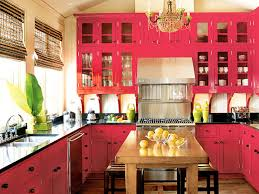 beauty in pink small kitchen design layout featuring plentiful