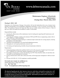 Journeyman Electrician Resume Sample by Maintenance Electrician Resume Example 1 Ilivearticles Info