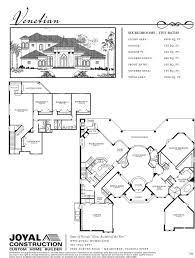 Vista Del Sol Floor Plans by Floor Plans Joyal Construction