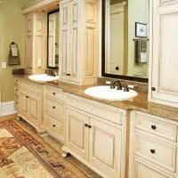 White Bathroom Vanity With Granite Top by Interior Bathroom Vanity Design With Mahogany Wood Cabinet