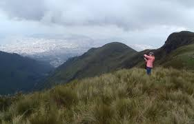 ABS IGERT Trainee  Audrey Joslin  awarded NSF Doctoral     Joslin in the paramos  the ecosystem the provides the water to Quito  with Quito