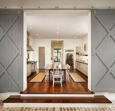 25 trendy kitchens that unleash the allure of sliding barn doors