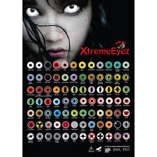 design crazy colored contacts eye cosplay white halloween lens