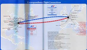 Carrier Route Maps by Http Airchive Com Galleries Airfrance7607map Concorde 22972 Jpg