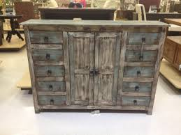 rustic weathered blue buffet or credenza home goods 600 my