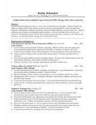 Secretary Job Description For Resume by Administrative Secretary Duties Resume Virtren Com