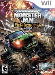 monster jam trucks 2014 amazon com monster jam path of destruction nintendo wii video