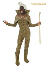 deathstroke halloween costumes 5th element ruby rhod costume w wig