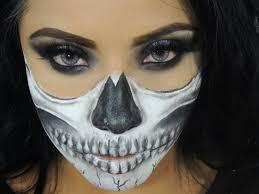 halloween makeup skull face u2013 halloween 2017