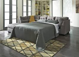 Ashley Furniture Sectionals Maier Grey Fabric Sectional Sleeper Sofa Steal A Sofa Furniture