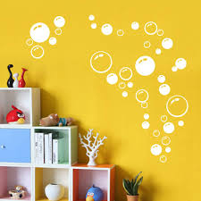 online get cheap sticker wallpaper aliexpress com alibaba group modern circle bubble pattern bathroom products wall stickers home decor waterproof wallpaper blue freen orange white