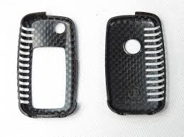 lexus key accessories deluxe real carbon fiber remote flip key cover case skin shell for