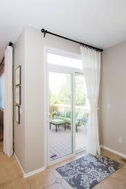 white sliding glass door curtain shade doors door curtains and