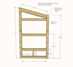 Blueprints To Build A House by Ana White Outhouse Plan For Cabin Diy Projects