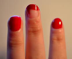 nail art santa style u2013 fear and fishnets