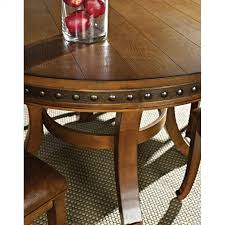 Steve Silver Dining Room Furniture Steve Silver Company Ashbrook Round Dining Table In Oak Ab480t