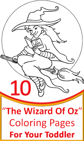 coloring download wicked witch of the west coloring pages wicked
