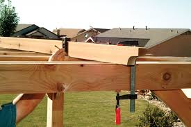 Enclosing A Pergola by How To Build A Pergola Step By Step Diy Building A Pergola