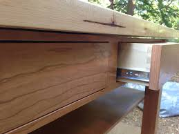 cherry and maple kitchen island 4th state woodworks