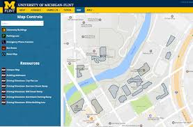 Map Of University Of Michigan by Directions U0026 Maps University Of Michigan Flint