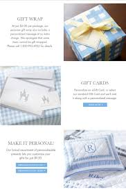 gift services pottery barn kids